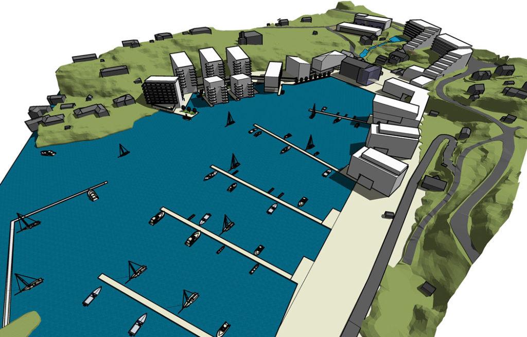 Plan for Eidsvåg fabrikker
