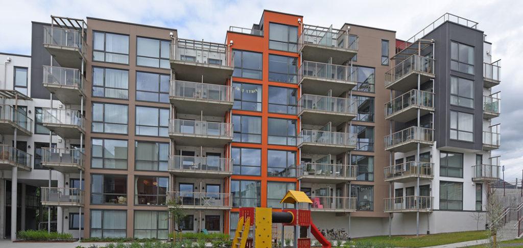 Fasade blokker Inndalsveien