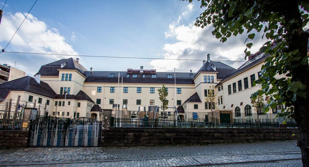 Fasade Møhlenpris skole