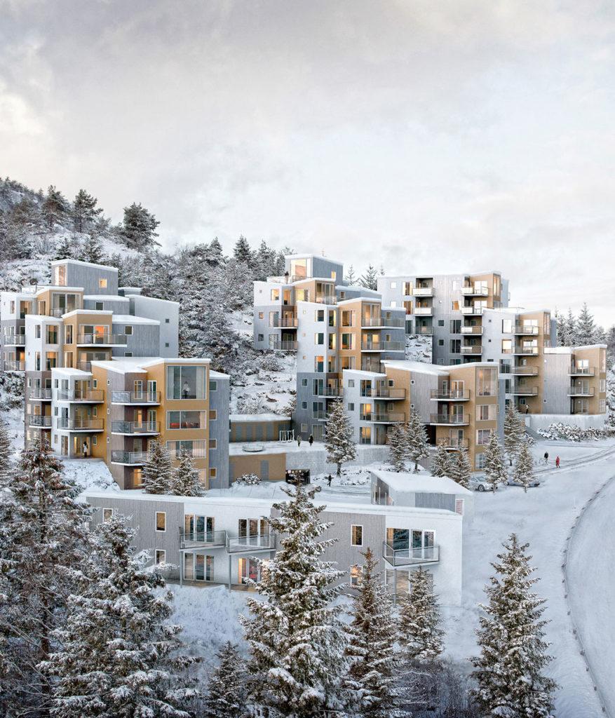 Bilde av Litlafjell boligfelt