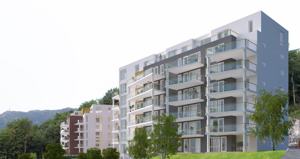Slettebakken - bilde av blokk i Bjerknes park
